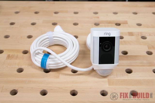 Ring Spotlight Camera Install