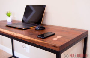 How to Make a DIY Desk with Wireless Charging