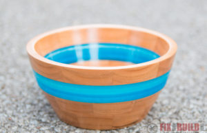 How To Make an Epoxy Resin and Wood Bowl