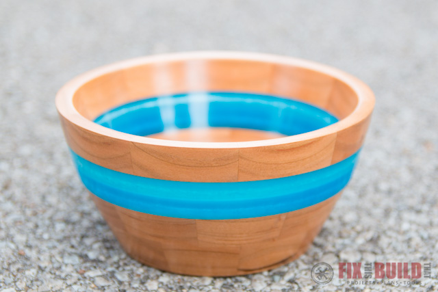 How To Make A Resin And Wood Segmented Bowl Fixthisbuildthat