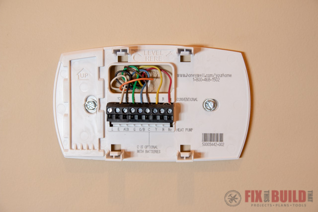 Installing an Ecobee4 My Parents | FixThisBuildThat on