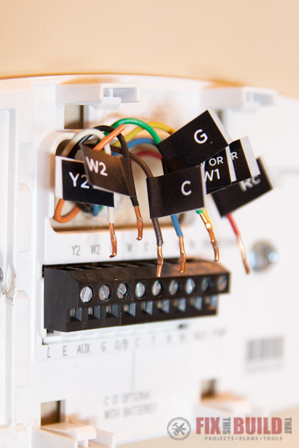 Installing An Ecobee4 My Parents