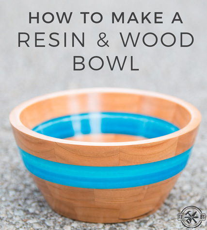 DIY Epoxy Resin and Wood Bowl