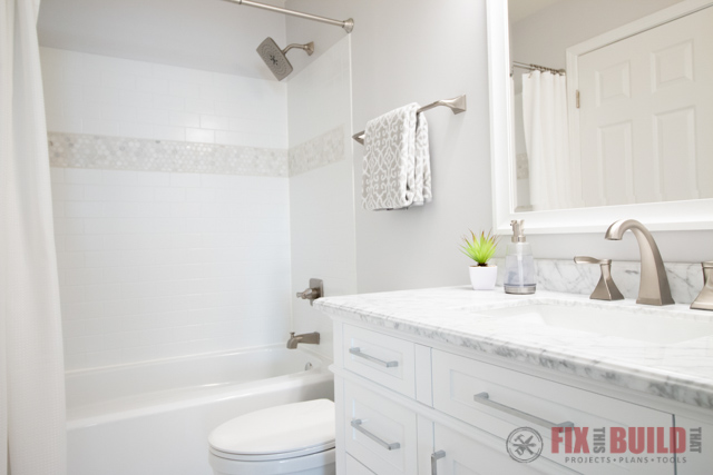 Diy small bathroom remodel fixthisbuildthat - Images of small bathroom remodels ...
