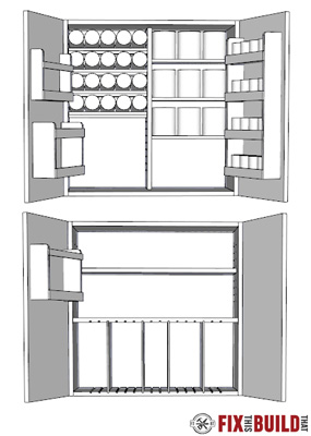 Diy Wall Cabinets With 5 Storage Options Fixthisbuildthat