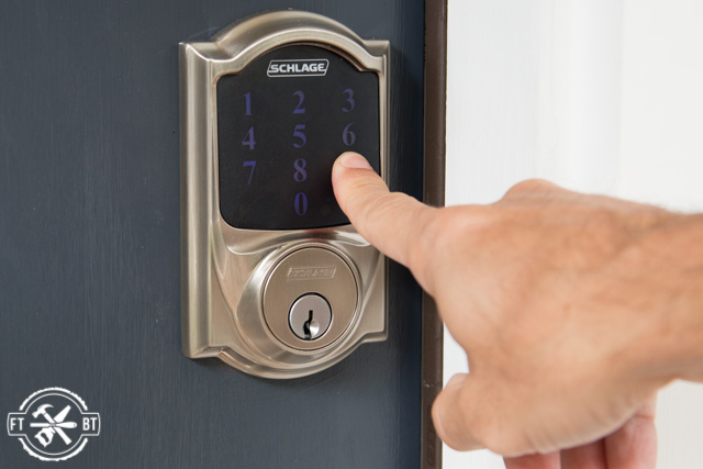 How To Install Keyless Door Lock Schlage Connect