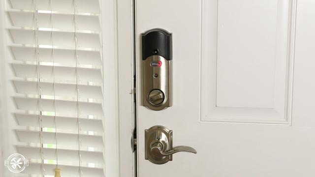 alarm going off on keyless smart lock