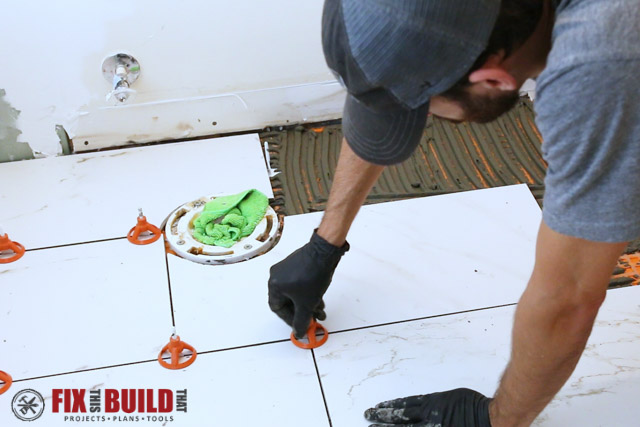 How to Tile a Bathroom Floor | FixThisBuildThat