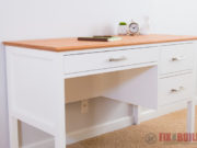 DIY Desk with Drawers Plans