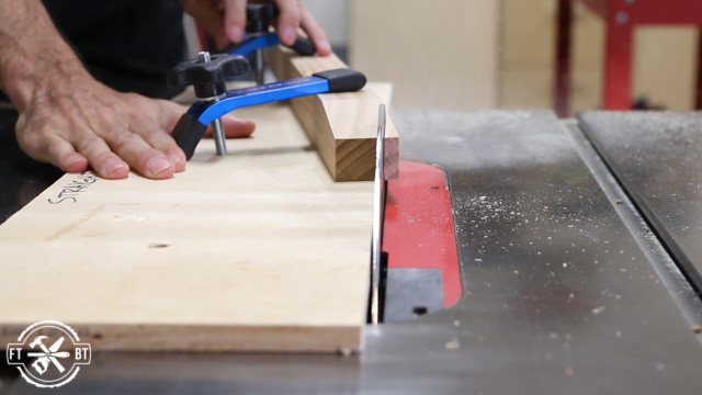 cutting table legs with table saw