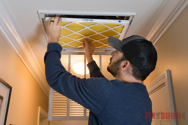 how to change furnace air filters