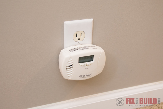 carbon monoxide detector for furnace