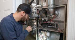 Inspecting a Furnace for Rust