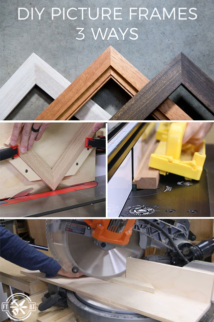 How To Make A Picture Frame 3 Ways Video Tutorial Fixthisbuildthat