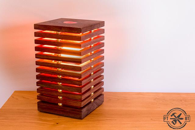 Diy Desk Lamp With Color Changing Led Light Fixthisbuildthat