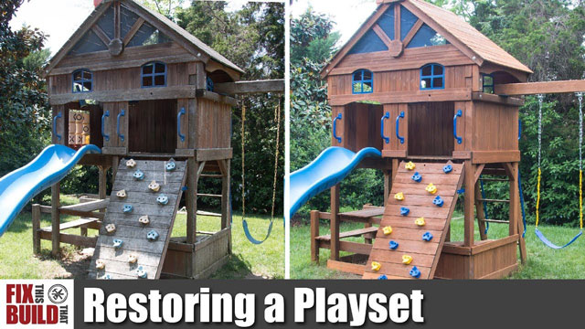 Restoring a Playset to New!