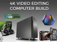 4K Video Editing Computer Build