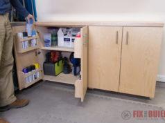 DIY Garage Cabinets Plans