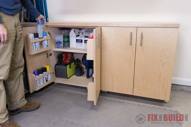 Diy Garage Cabinets How To Build Fixthisbuildthat