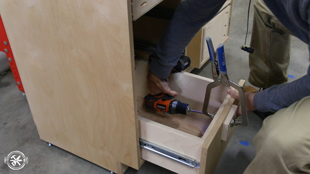 drawer front install