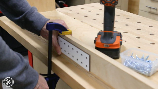 sizing pegboard for storage