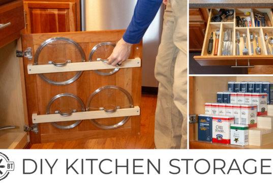 DIY Kitchen Organization Projects