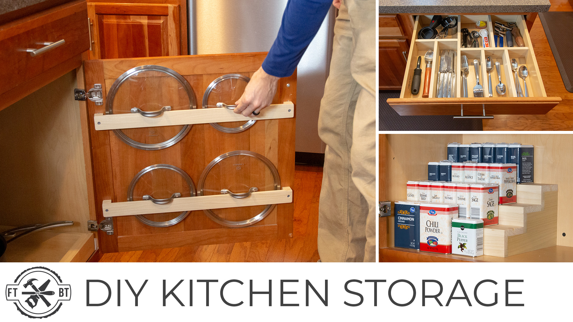 3 Easy DIY Kitchen Organization Projects   Project Recap ...
