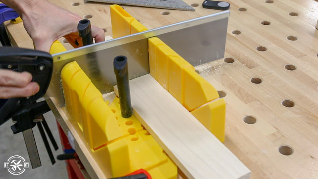 How to use a miter box