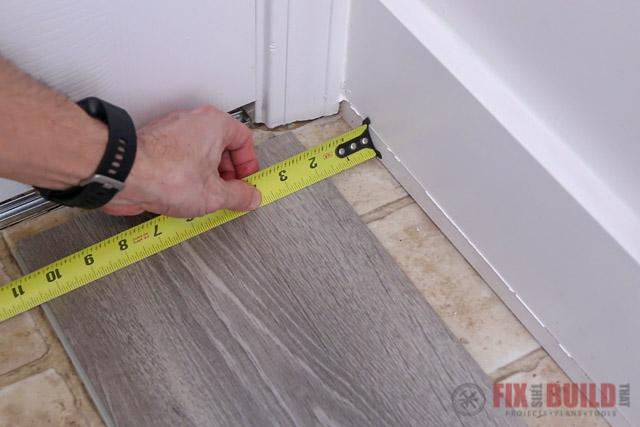vinyl flooring expansion gap