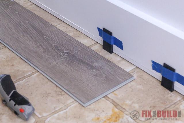 spacers for vinyl flooring