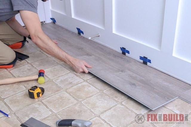 installing lifeproof vinyl plank flooring