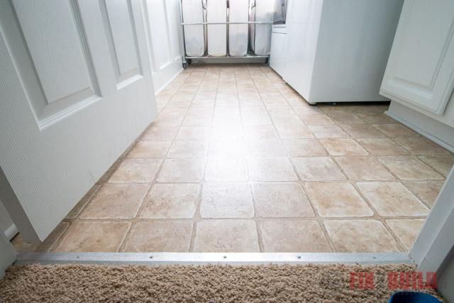 linoleum under vinyl plank flooring