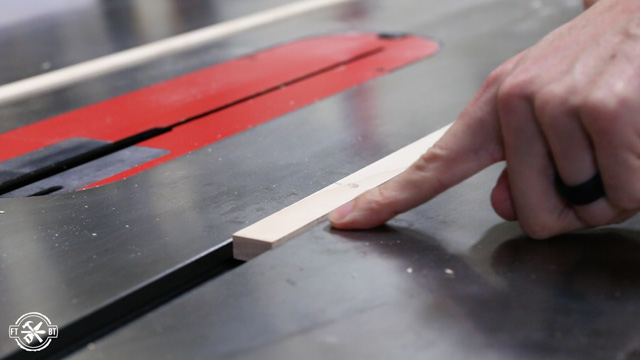 runners in miter slots on table saw