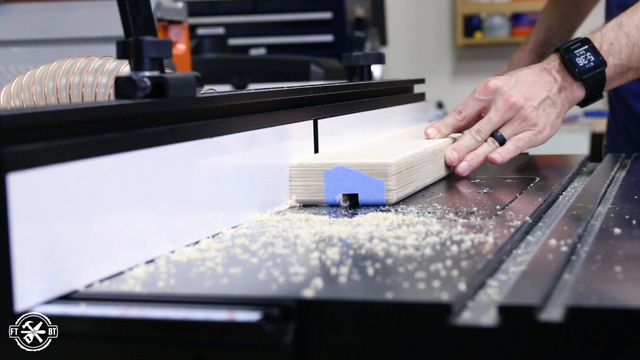 cutting integrated stop block with router
