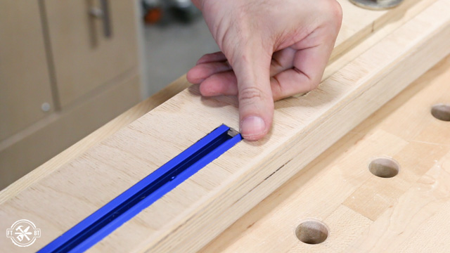 adding track to the stop block channel