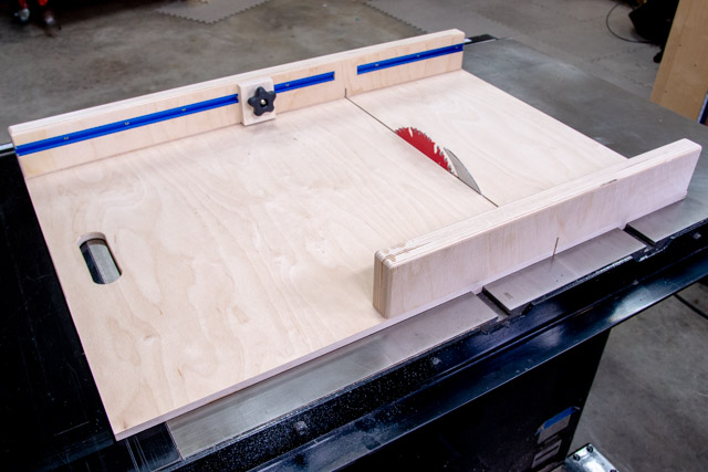 How To Make A Table Saw Sled Free Plans Fixthisbuildthat
