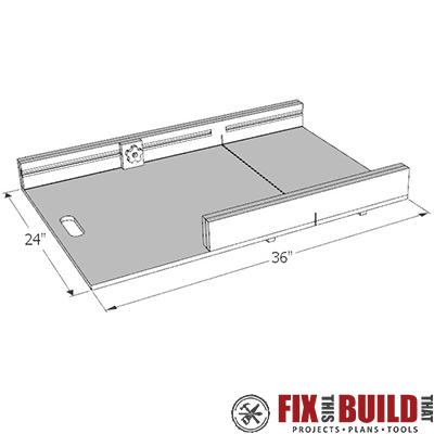 Table saw sled plans free pdf