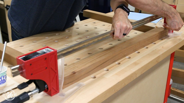 clamping dowel joints