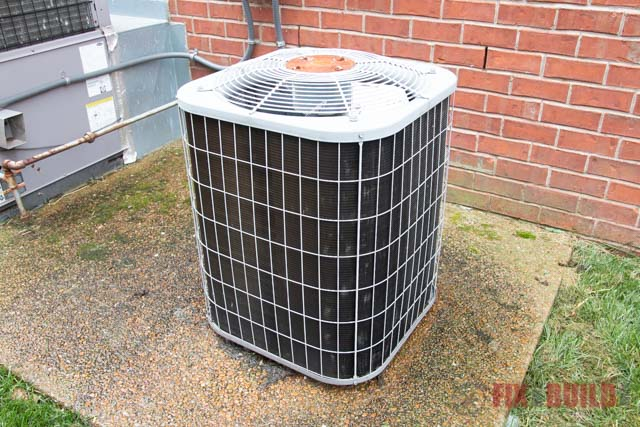air conditioner to be cleaned