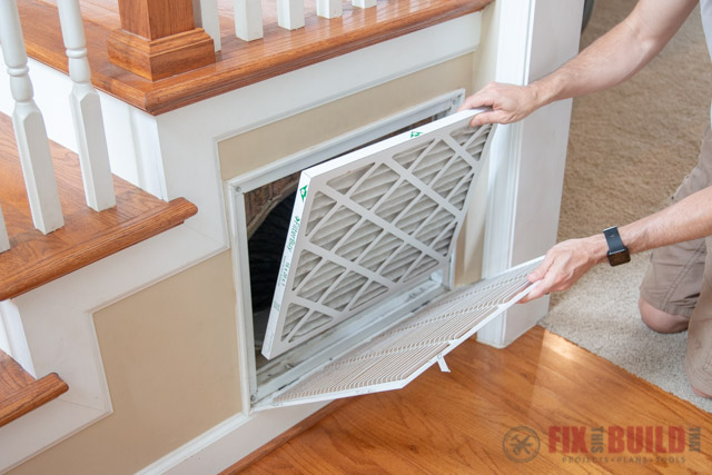 changing HVAC filters