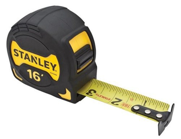 Stanley 16 inch tape measure