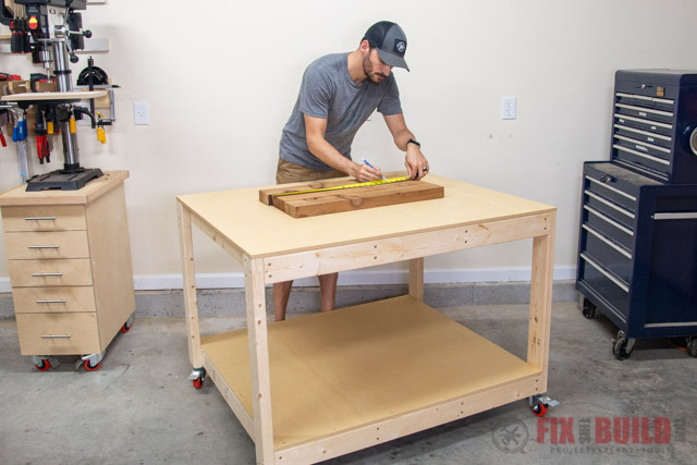 I Have Everything From Workbench Projects Which Are Perfect For A Garage Or  Basement To DIY Base Cabinets And Clamp Racks. DIY Work Table ...