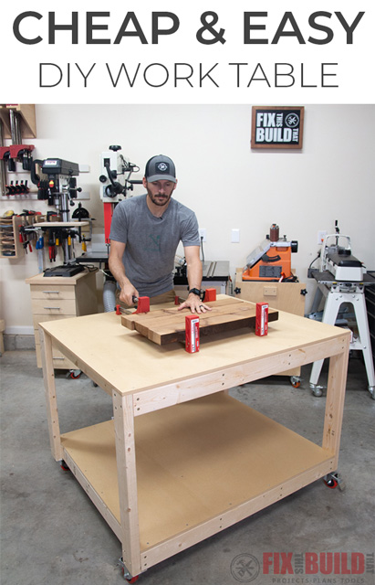 DIY Work Table or Workbench