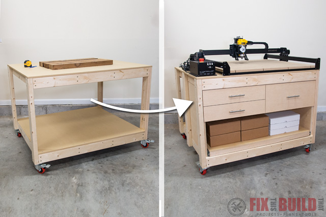 Superb Simple Way To Add Drawers To Any Workbench Fixthisbuildthat Alphanode Cool Chair Designs And Ideas Alphanodeonline