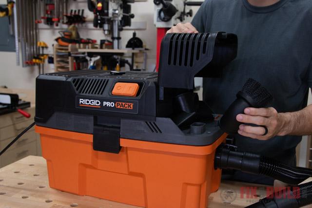 RIDGID Pro Pack Vacuum