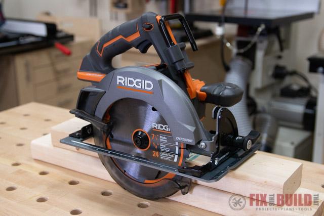 RIDGID octane circular saw