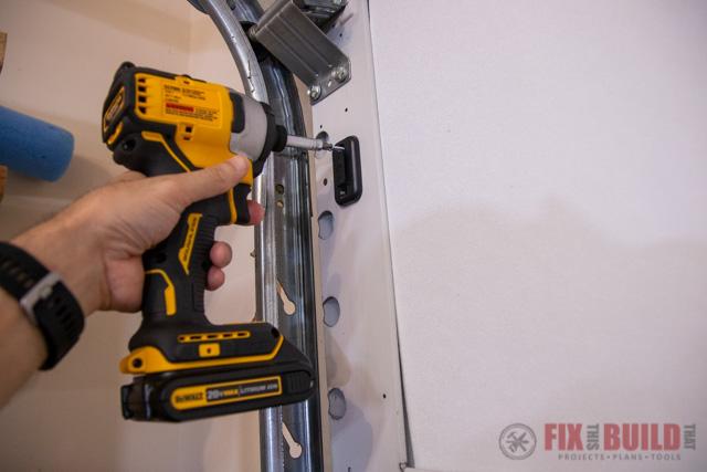 mounting garage sensor