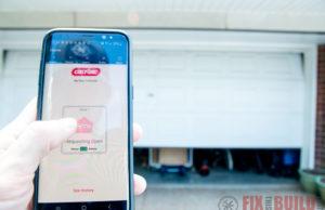 Smart Garage Door Opener Genie Aladdin Connect Upgrade