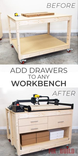 Add Drawers to Any Workbench with Easy Steps