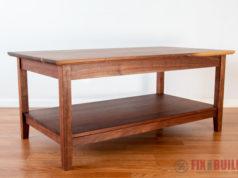 DIY Modern Farmhouse Coffee Table